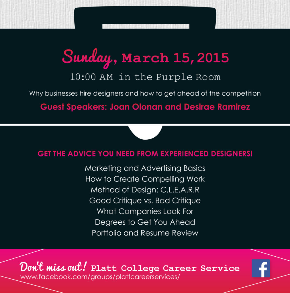 Designer's Workshop at Platt College San Diego