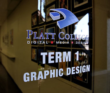 Platt College San Diego's Term 1 Graphic Design