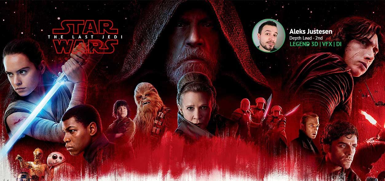 Star Wars: Last Jedi | PCSD Alumn | Aleks Justensen